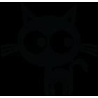 Наклейка «Котенок»