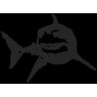 Наклейка «Акула v4»