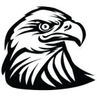 Наклейка «Орел v14»