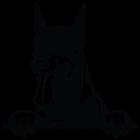 Наклейка «Доберман v3»