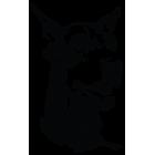 Наклейка «Доберман v6»