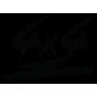 Наклейка «4x4»