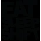 Наклейка «Eat Sleep Shift»