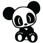 Наклейка «JDM Panda»