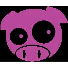 Наклейка «JDM Pig»