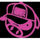 Наклейка «JDM Pig Cap»