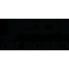 Наклейка «Jedi on board»