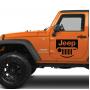 Наклейка «Jeep Smile»