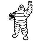 Наклейка «Michelin Racer»