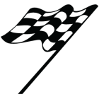 Наклейка «Race Flag v3»