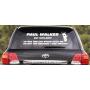 Наклейка «RIP Paul Walker»