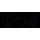 Наклейка «VW Peace Love Vdub»