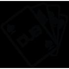 Наклейка «DUB»