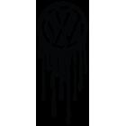 Наклейка «Volkswagen Капли»