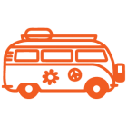 Наклейка «VW Bus»