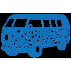 Наклейка «VW Bus v2»