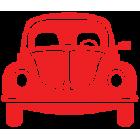 Наклейка «VW Volkswagen Beetle»