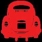 Наклейка «VW Volkswagen Beetle v2»