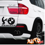 Наклейка «No Free Rides! BMW»