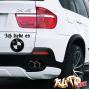 Наклейка «Ich liebe es BMW»