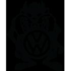 Наклейка «TAZ Devil VW»