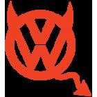 Наклейка «VW Devil»