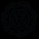 Наклейка «VW Flame»