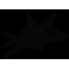 Наклейка «Jet Fighter v4»