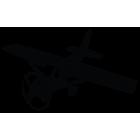Наклейка «Cessna 172 v2»
