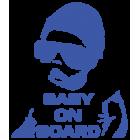 Наклейка «Baby on Board v2»
