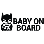 Наклейка «Baby on Board Batman»