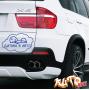 Наклейка «Ребенок в машине v21»