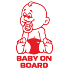 Наклейка «Baby on Board v6»