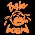 Наклейка «Baby on Board v7»
