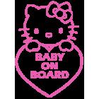 Наклейка «Baby on Board v9»