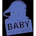 Наклейка «Baby on Board v15»