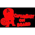 Наклейка «Baby on Board v20»