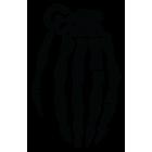 Наклейка «Граната»