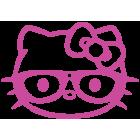 Наклейка «Hello Kitty Ботан»