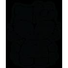 Наклейка «Hello Kitty DWS»