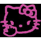 Наклейка «Hello Kitty Finger»
