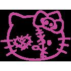 Наклейка «Hello Kitty Zombie»