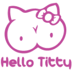 Наклейка «Hello Titty»