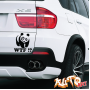 Наклейка «Панда WTF»
