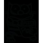 Наклейка «Попкорн-кот»