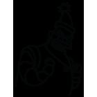 Наклейка «RoboSanta»