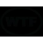 Наклейка «WTF»