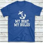 """Футболка """"My Boat My Rules"""""""