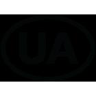 Наклейка «UA»