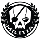 Наклейка «Titanfall Militia»
